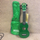 Mahalo U30G/GN Green Soprano Ukulele including Green Carry Bag
